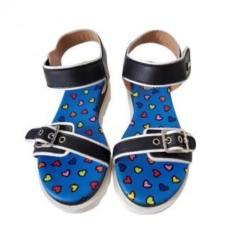 Love Moschino Platform Sandals