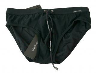 Dolce & Gabbana Black Men's Swimming Briefs