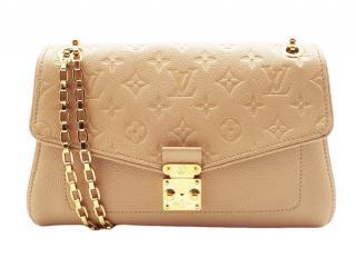 Louis Vuitton Beige Monogram Empreinte Shoulder Bag