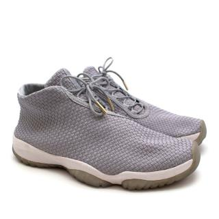 Nike Air Jordan Future Wolf Grey Basketball Sneakers