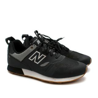 New Balance Black Mesh & Leather Trailbuster Trainers
