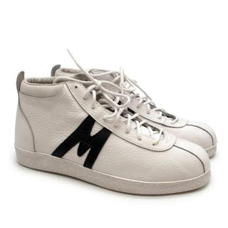 Karhu White Leather Trampas High Top Trainers