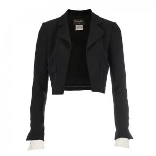 Chanel Little black jacket 2015 Cropped Jacket with Cuffs
