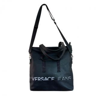 Versace Jeans Leather Weekender Bag