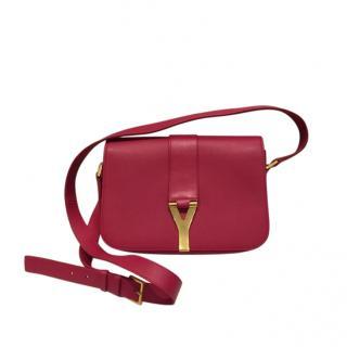 Saint Laurent Pink Y Ligne Shoulder Bag
