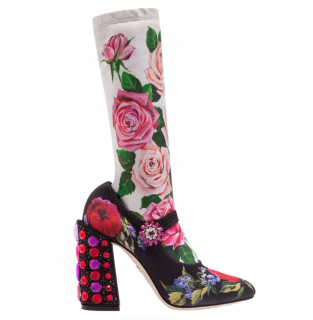 Dolce & Gabbana Mary Jane Socks Boots 105