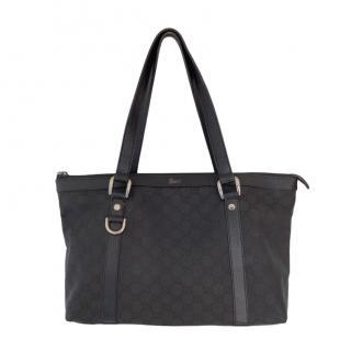 Gucci Black Vintage Supreme Shoulder Bag
