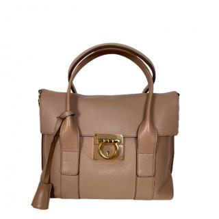 Ferragamo Sookie Lock Tote Bag