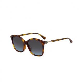 Fendi FF0361 Havana Sunglasses