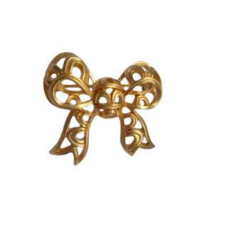 Nina Ricci Vintage Filigree Bow Pin Brooch