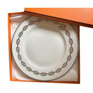 Hermes Chaine D'Ancre Dinner Plate