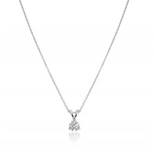 Bespoke Platinum Set Diamond Pendant Necklace