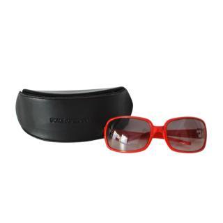 Dolce & Gabbana Red Square Sunglasses