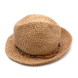 Bonpoint Kid's T5 Beaded Straw Hat