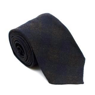 Filomarino Napoli Navy Cashmere Blend Tie