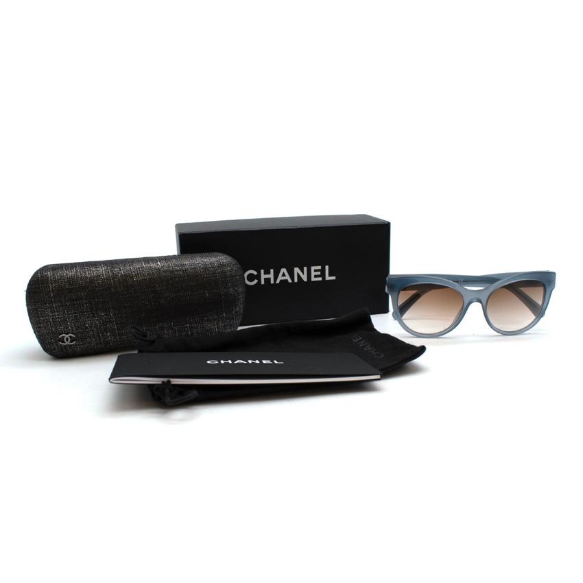 Chanel Transparent Light Blue 3348 Sunglasses