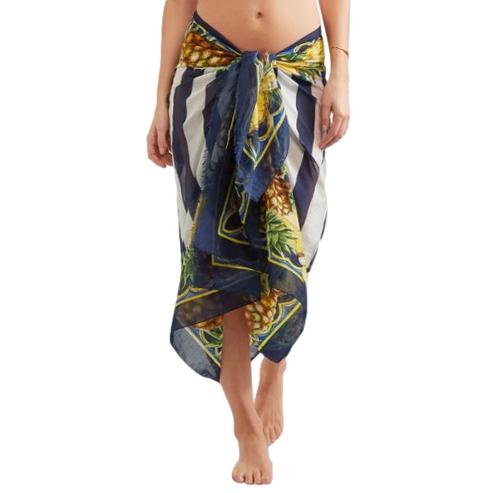 Dolce & Gabbana Pineapple Print Pareo/Scarf