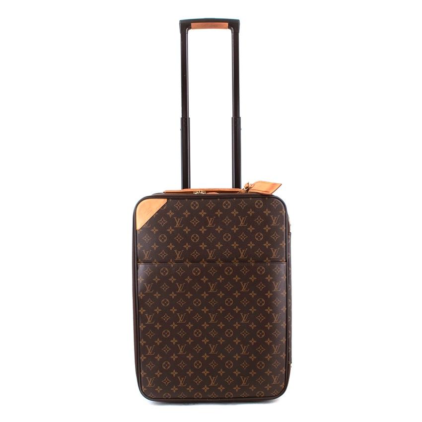 Louis Vuitton Monogram Canvas Pegase 55 Cabin Size Rolling Luggage
