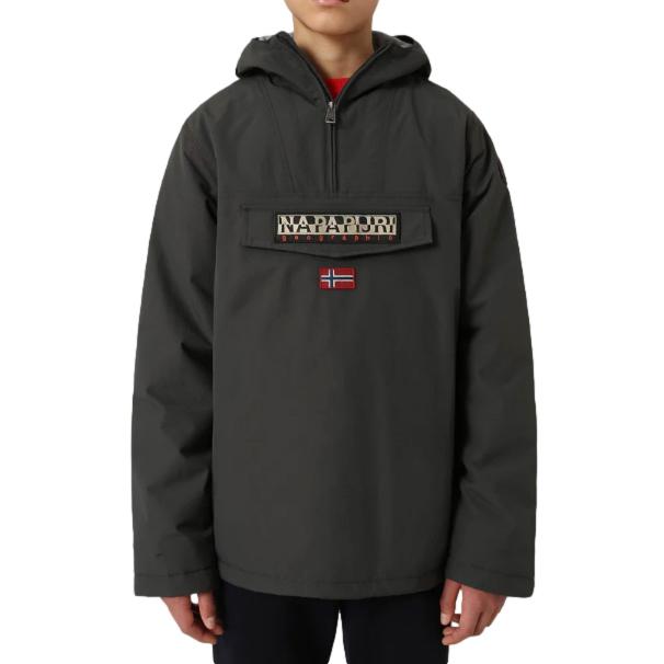Napapijri Kid's 14Y Rainforest Dark Grey Winter Jacket