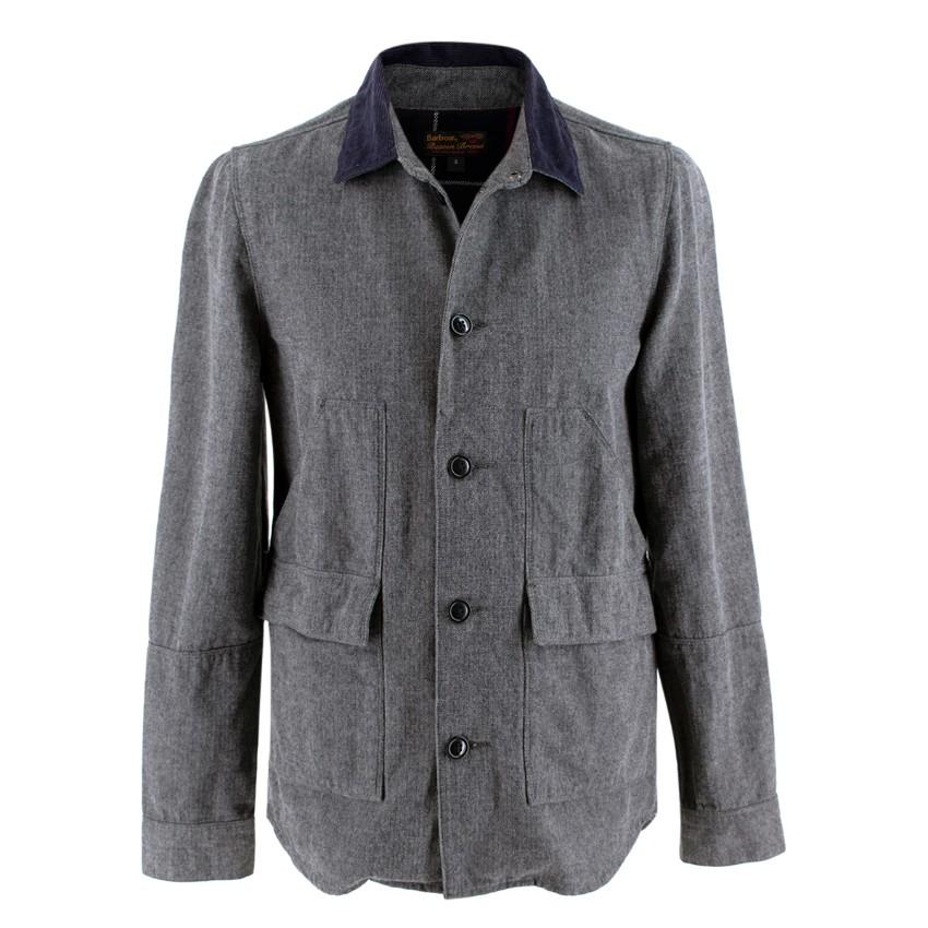 Barbour Earmont Cotton Grey Overshirt