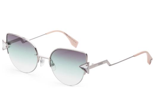 Fendi FF0242/S Cat-Eye Crystal Sunglasses
