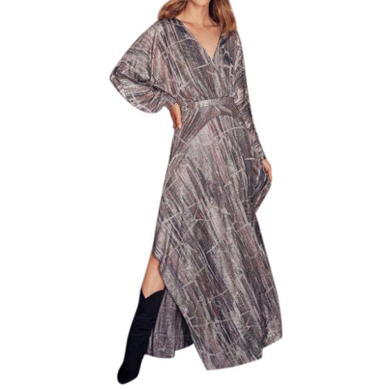 Ba&Sh Metallic Santana Dress