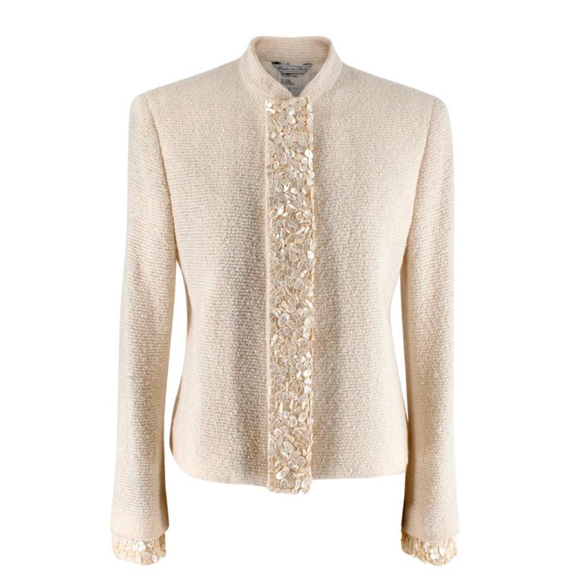 NR Gianni Versace Vintage Wool Evening Jacket