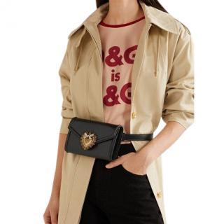 Dolce & Gabbana Black Devotion Belt Bag