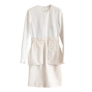 Celine by Phoebe Philo Monochrome Crepe Gazar Dress