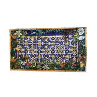 Dolce & Gabbana Jungle Majolica Print Pareo