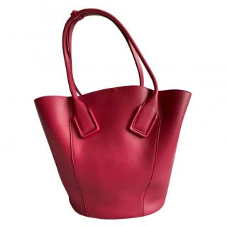 Bottega Veneta Red BV Basket Bag