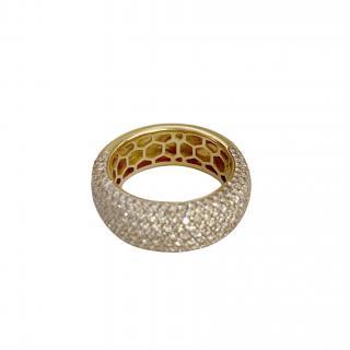 Annoushka 18ct yellow gold Champagne Diamond Eclipse Ring