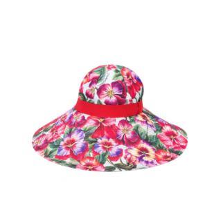Dolce & Gabbana Floral print Sun Hat
