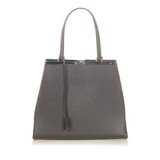 Fendi 3Jours Leather Tote Bag