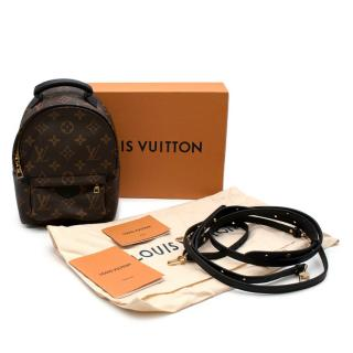 Louis Vuitton Palm Springs Mini Leather Monogram Backpack
