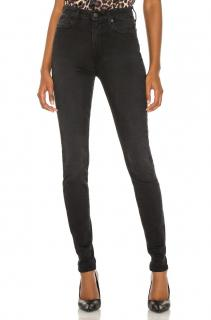 7 for all Mankind Rozie high waisted black jeans