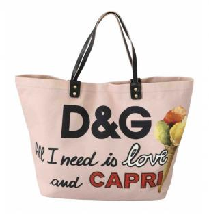 Dolce & Gabbana Capri Shopping Tote