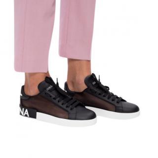 Dolce & Gabbana Sheer Portofino Sneakers