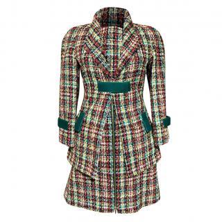 Chanel Runway Multicoloured Tweed Dress & Jacket