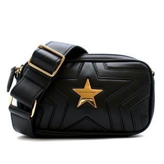 Stella McCartney Black Faux Leather Stella Star Bum Bag