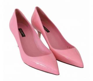 Dolce & Gabbana Candy Pink Patent Pumps