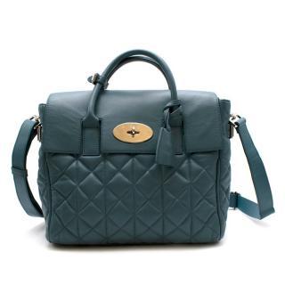 Mulberry Blue Leather Cara Delevingne Backpack