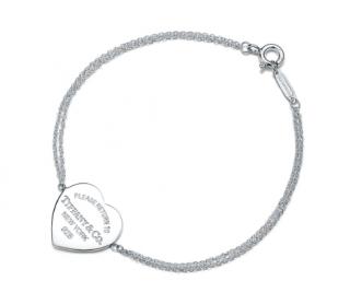 Tiffany Return to Tiffany Heart Tag Double Chain Bracelet