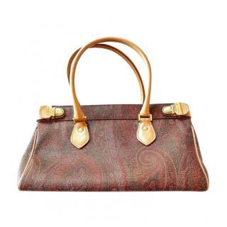 Etro Small Paisley Jacquard Shoulder Bag