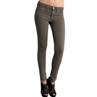 Rag & Bone Khaki Skinny Jeans