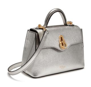 Mulberry Silver Micro Seaton Bag
