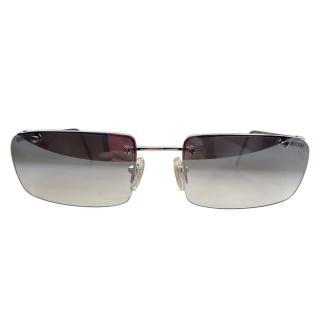Moschino Vintage Rimless Sunglasses