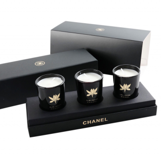 Chanel VIP Gift Set of 3 Candles