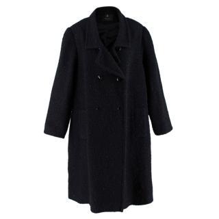 Stewart Parvin Double Breasted Tweed Coat