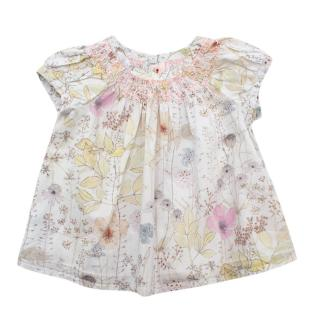 Bonpoint Baby Girl Floral Blouse